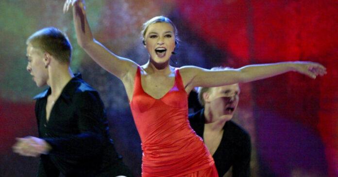 Marie N at Eurovision 2002