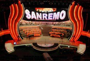 Italy: Sanremo 2022 - First night @ Teatro Ariston