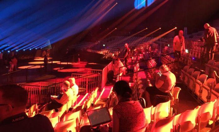 Expo Tel Aviv for Eurovision rehearsals