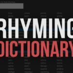 Eurovision Rhyming dictionary