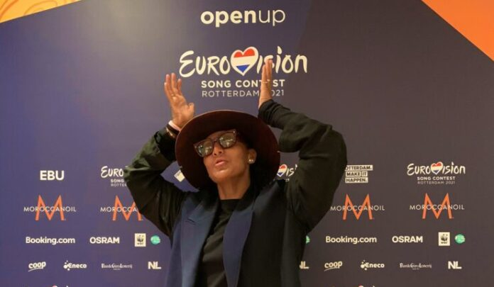 Senhit in Rotterdam for Eurovision 2021