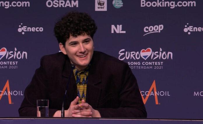 Gjon's Tears at Eurovision 2021