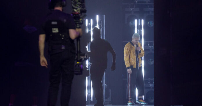 Benny Cristo, Czech Republic, First Rehearsal, Rotterdam Ahoy, 10 May 2021 — EBU / Andres Putting