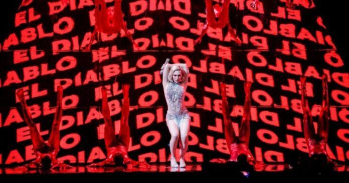 Elena Tsagrinou, Cyprus, Second Rehearsal, Rotterdam Ahoy, 12 May 2021 — EBU / Thomas Hanses