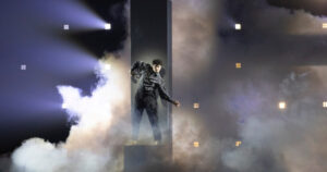 Gjon's Tears, Switzerland, Second Rehearsal, Rotterdam Ahoy, 14 May 2021 — EBU / Andres Putting