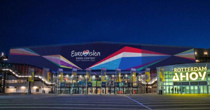 Ahoy Rotterdam for Eurovision 2021