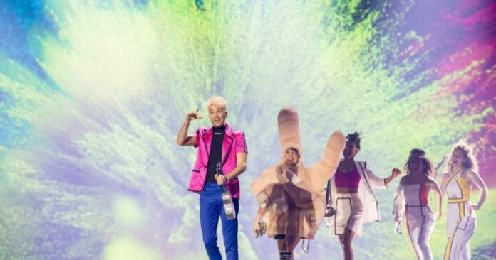 Jendrik, Germany, Second Rehearsal, Rotterdam Ahoy, 15 May 2021 — EBU / Andres Putting