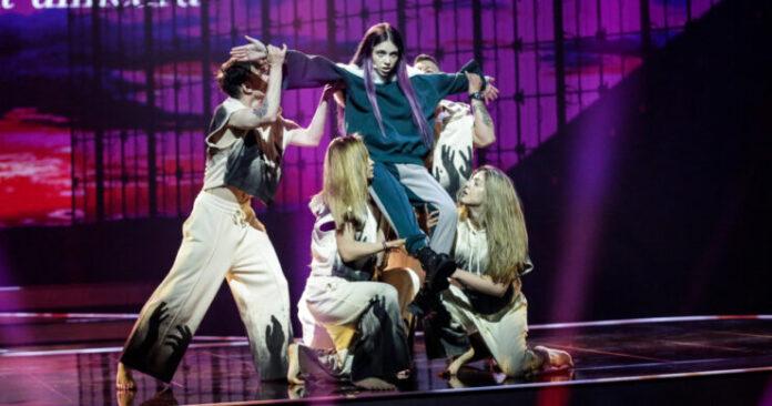 Roxen at the Rotterdam Ahoy, Sunday 9 May 2021 for Eurovision