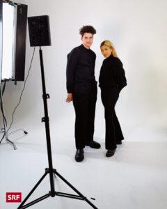 Gjon's Tears is working with creative director Sacha Jean-Baptiste at Eurovision