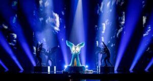 Dix, Norge, første øving Eurovision, Rotterdam Ahoy, 9. mai 2021