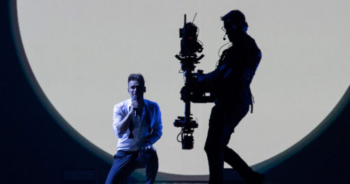 Uku Suviste, Estonia, First Rehearsal, Rotterdam Ahoy, 10 May 2021 — EBU / Andres Putting