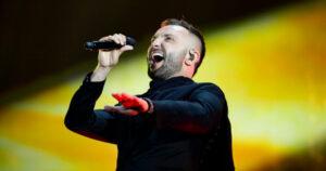 Vasil, North Macedonia, Second Rehearsal, Rotterdam Ahoy, 12 May 2021 — EBU / Thomas Hanses